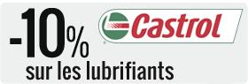 10% de remise sur les produits de la marque Castrol