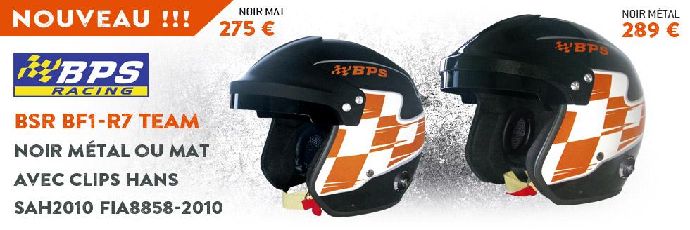 Nouveaux casques BPS RACING