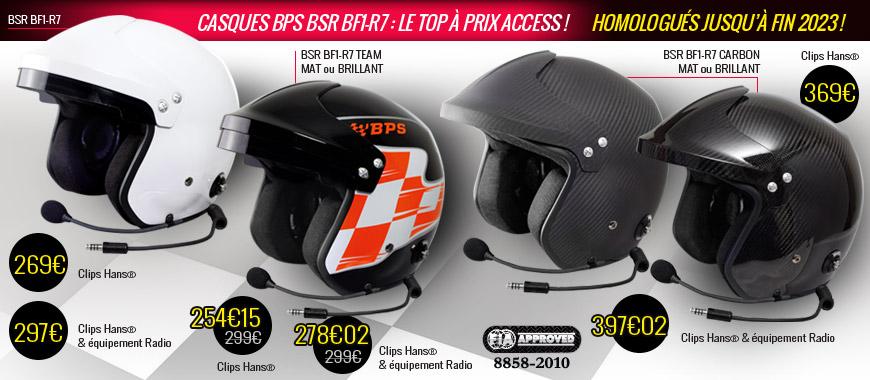 Casques BPS FIA 8858-2010