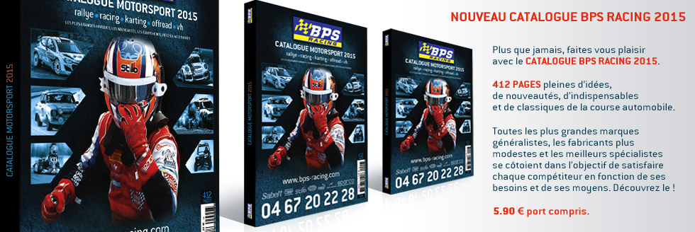 Catalogue motorsport BPS RACING 2015