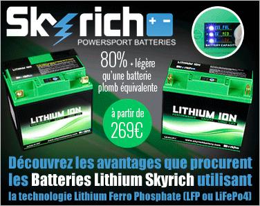Batterie Skyrich lithium
