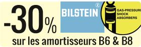 30% de remise sur les amortisseurs Bilstein B6 et B8