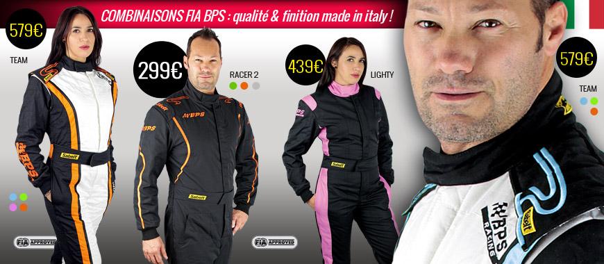 Combinaisons FIA BPS