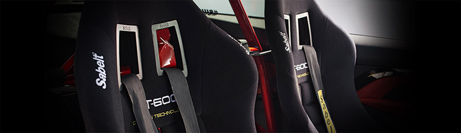 Sièges baquets Sabelt pour la pratique du sport automobile