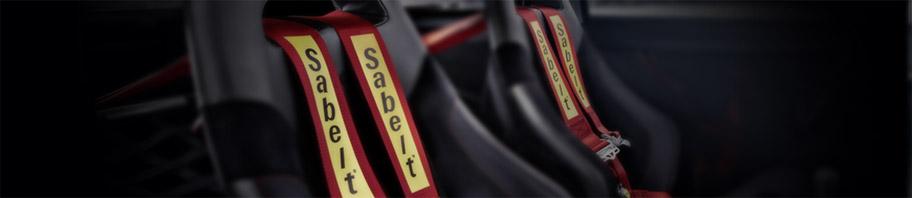 Harnais Sabelt pour la pratique du sport automobile