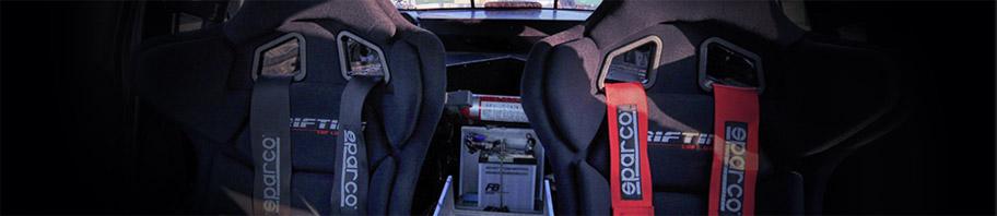 Harnais Sparco pour la pratique du sport automobile