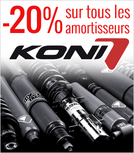 Amortisseurs Koni en promotion