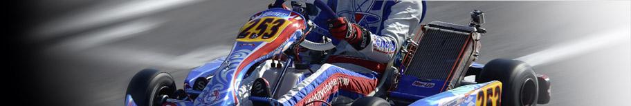 Entretien et réparation des karts : accessoires, housses, instruments, volants, plaquettes