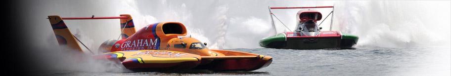 Equipement pilote pour la compétition Offshore