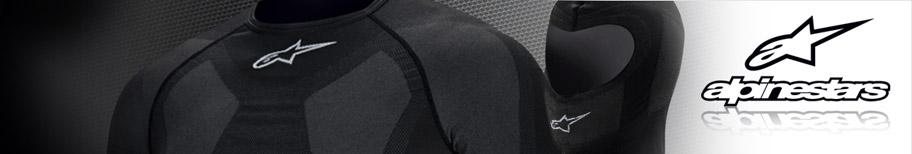 Sous-vêtements Alpinestars pour la pratique du karting
