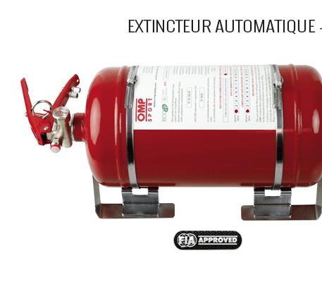 Extincteur automatique - mécanique - acier - 4,25l